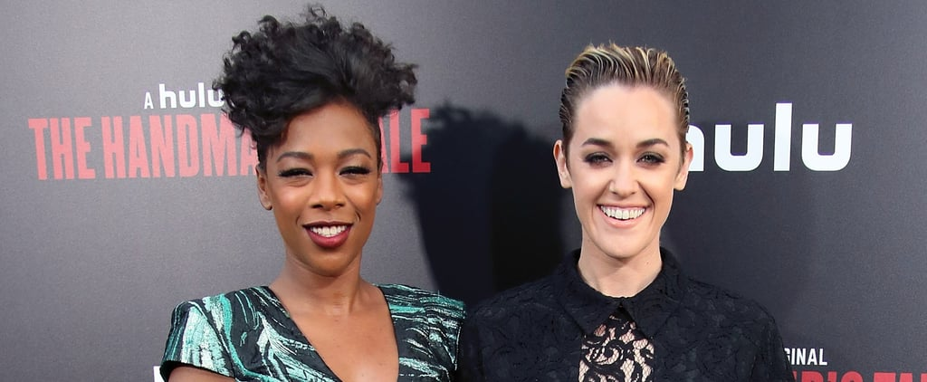 Samira Wiley and Lauren Morelli Have That Newlywed Glow