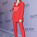 Madelaine Petsch at the Boss Fall 2020 Show