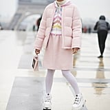 White With Pastels For Wintry Paris