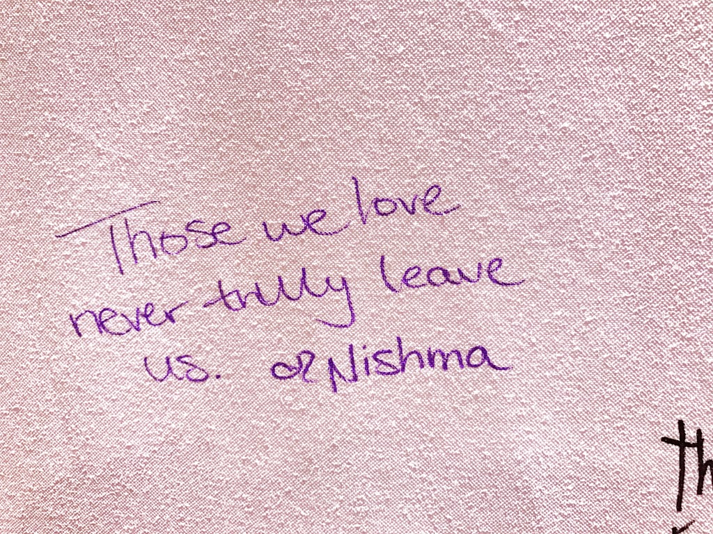 """Those we love never truly leave us."""
