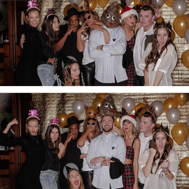 """Beyoncé, Jay Z, and JT Give Taylor Swift Her """"#bestbirthdayEVER"""""""