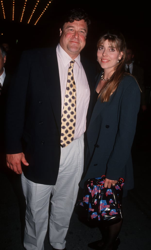 John Goodman with cute, Wife Anna Beth Goodman