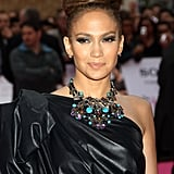 For the red-carpet premiere of The Back-Up Plan in London back in 2010, Jennifer showcased her own haute version of the topknot, bird's nest-style.