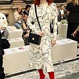 Karen Elson at the Victoria Beckham London Fashion Week Show