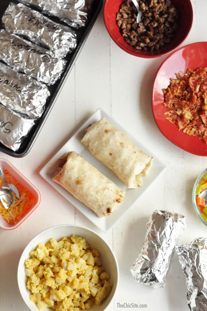 Freezer-Friendly Classic Breakfast Burritos