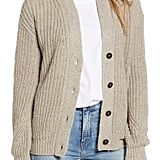 BP. Shaker Stitch Grandma Cardigan