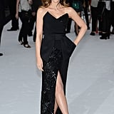 Kate Beckinsale struck a pose at the Total Recall premiere in London.