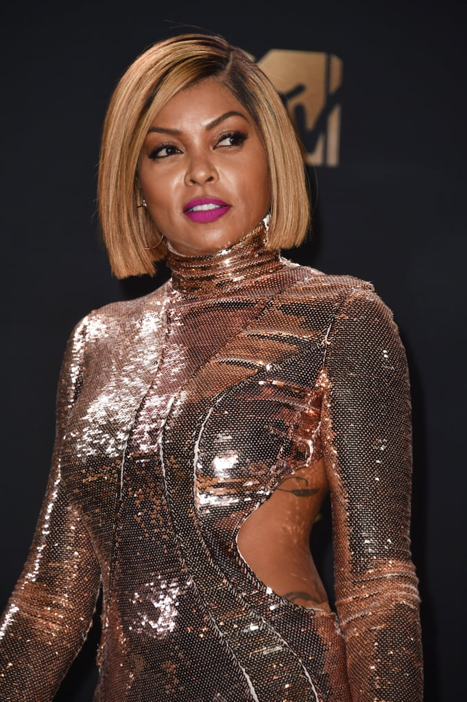 Taraji P. Henson Looks Like a Sexy Cyborg at the MTV Movie and TV Awards