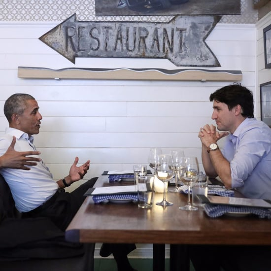 Justin Trudeau and Barack Obama's Dinner in Montreal
