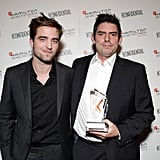 Robert Pattinson and Chris Weitz cozied up at an event in LA.