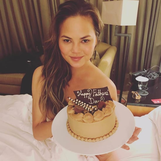Chrissy Teigen Naked Instagram Photo For Father's Day 2017