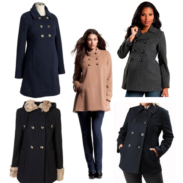 Maternity Pea Coats For Winter | POPSUGAR Moms