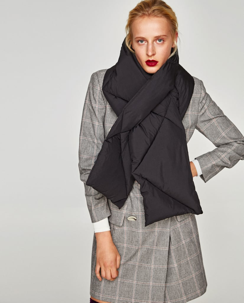 Zara Quilted Scarf (£20)