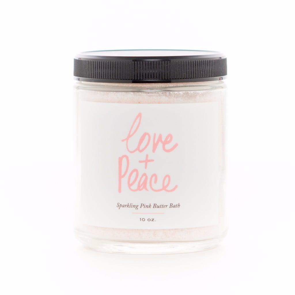 Love + Salt Sparkling Pink Butter Bath
