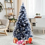 Homcom 5 Foot Artificial Berry Snow Christmas Tree (£42.98)