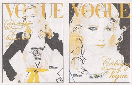 Vogue Australia 50th Anniversary covers