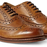 Grenson Stanley Leather Wingtip Brogues