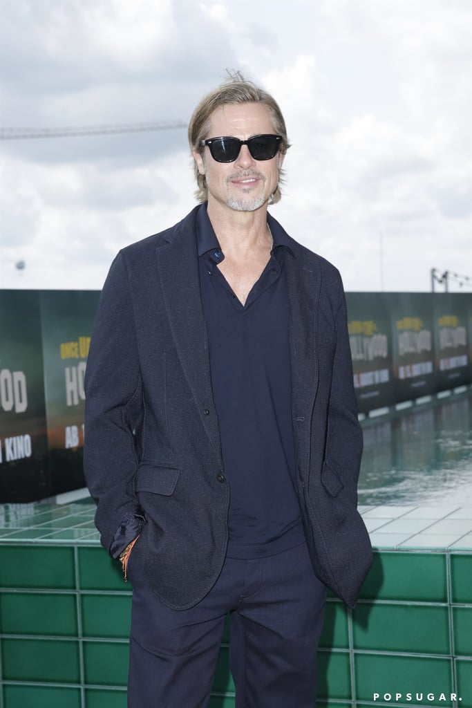 Brad Pitt at the Once Upon a Time in Hollywood photocall in Berlin.