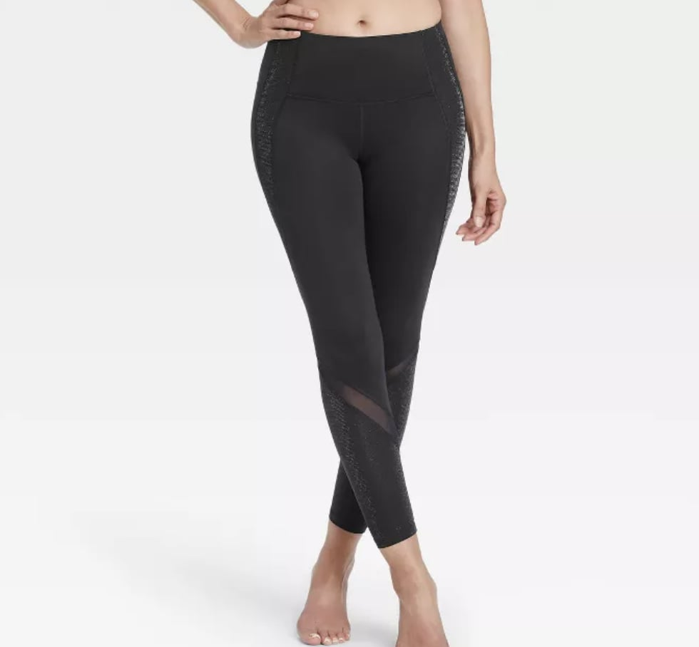 High-Waisted Shine Leggings