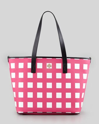 Kate Spade New York Harmony Check Diaper Bag