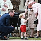 Why Do Kate and William Kneel to Talk to Their Children?