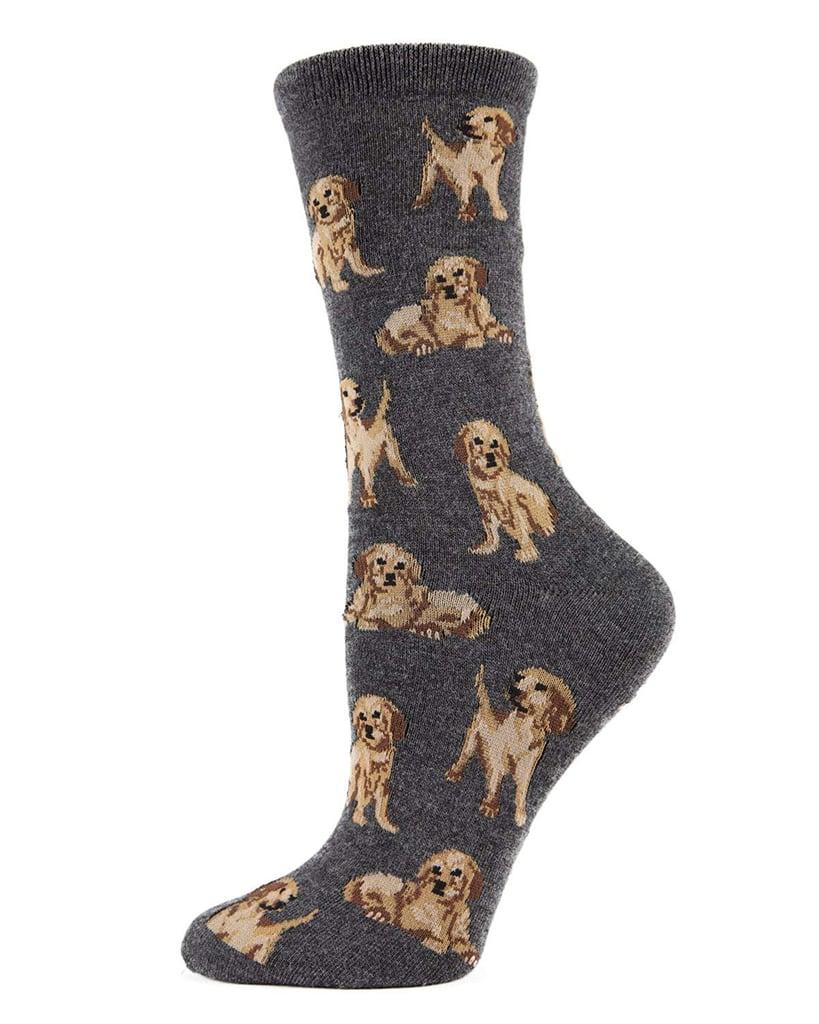 MeMoi Golden Retriever Socks