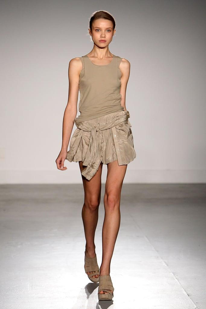 2011 Spring New York Fashion Week: Wayne