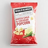 World Market Hatch Chile and Cheddar Popcorn ($3)