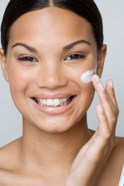 Misleading Scientific Terms in Cosmetics Anti-Ageing Face Creams. Beauty Glossary Ingredients in Cream