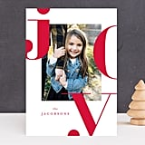 Graphic Joy Card from Minted ($1-$3 per card)