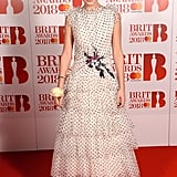 Millie Bobby Brown at the Brit Awards in 2018