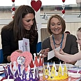 Kate Middleton visited a children's hospital in Liverpool.