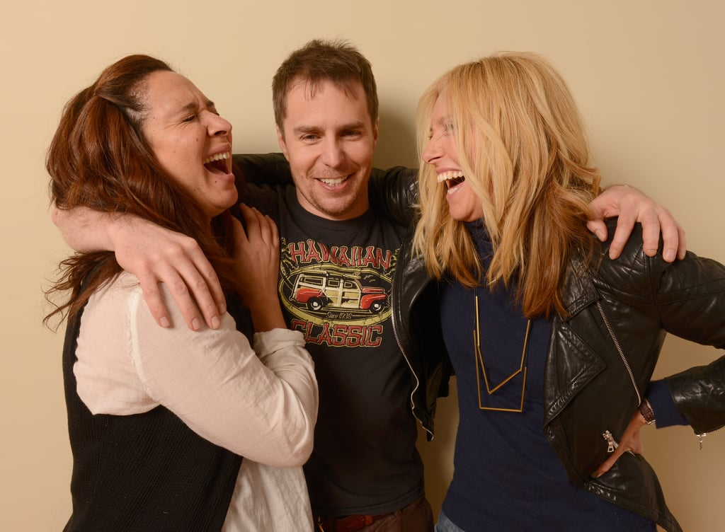 Sam Rockwell had Maya Rudolph and Toni Collette laughing endlessly.