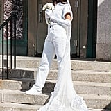 Vashtie's City Hall Wedding Outfit