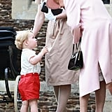 When George Shared a Moment With His Great-Grandma