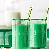 Vanilla-Mint Green Milk