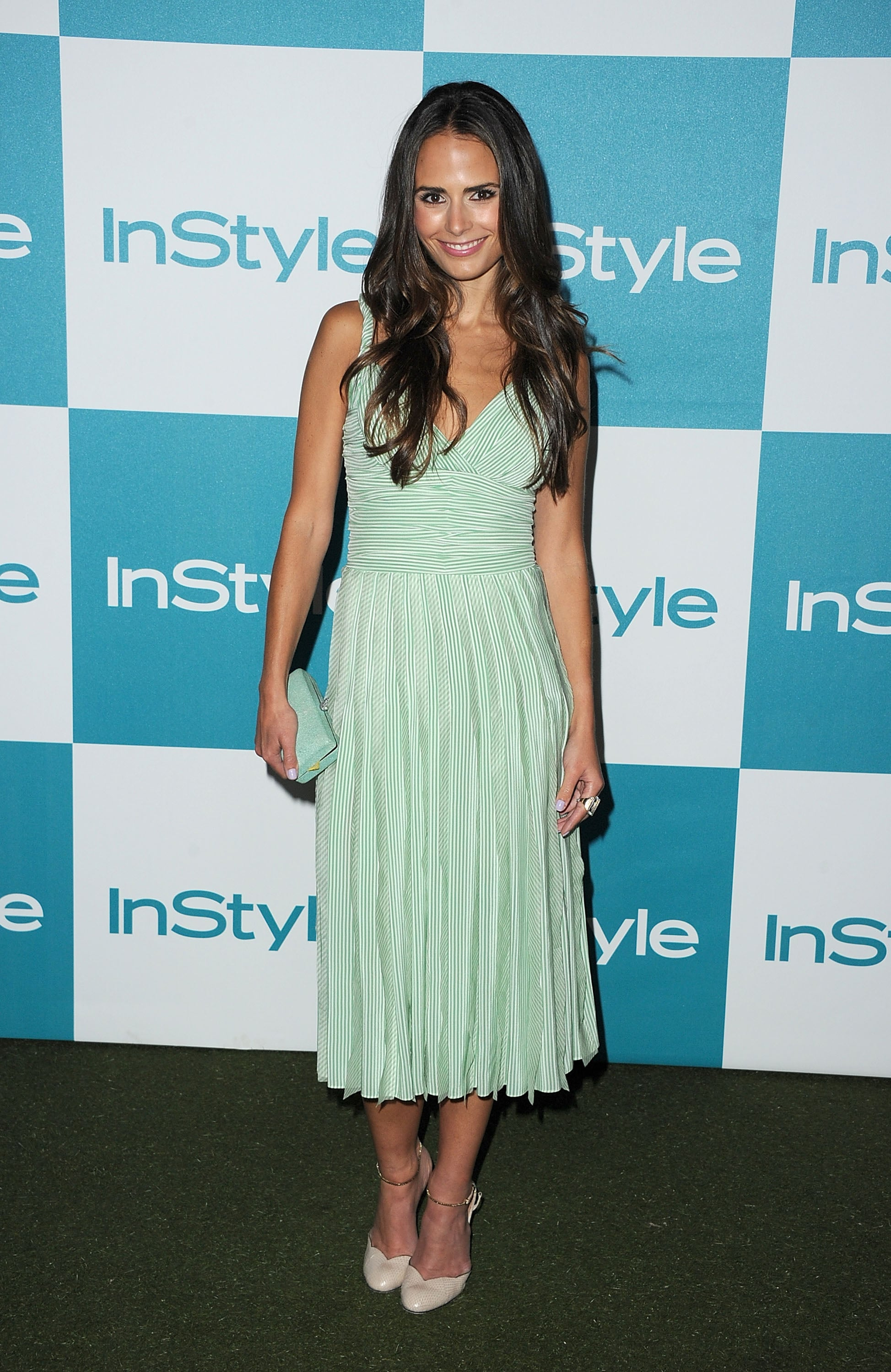 Jordana Brewster at the 10th annual InStyle Summer soiree.