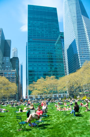 Bryant Park Attracts Women to Maintain Gender Balance