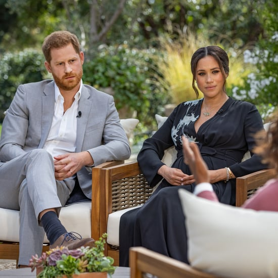 The Palace Responds to Harry and Meghan's Oprah Interview