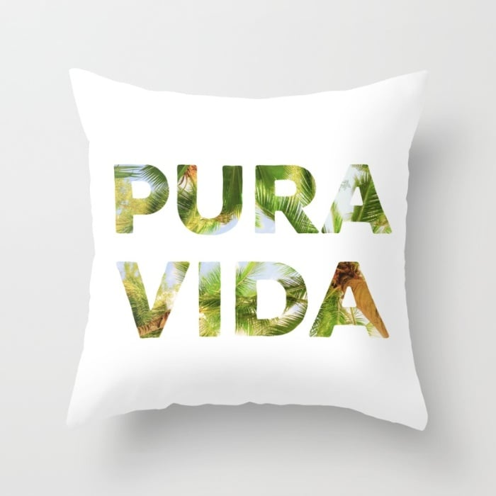 Throw Pillow Cover And Insert : Decorative Pillows With Spanish Phrases POPSUGAR Latina