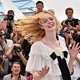 Elle Fanning Gave a Hair Flip in Her Chanel Number