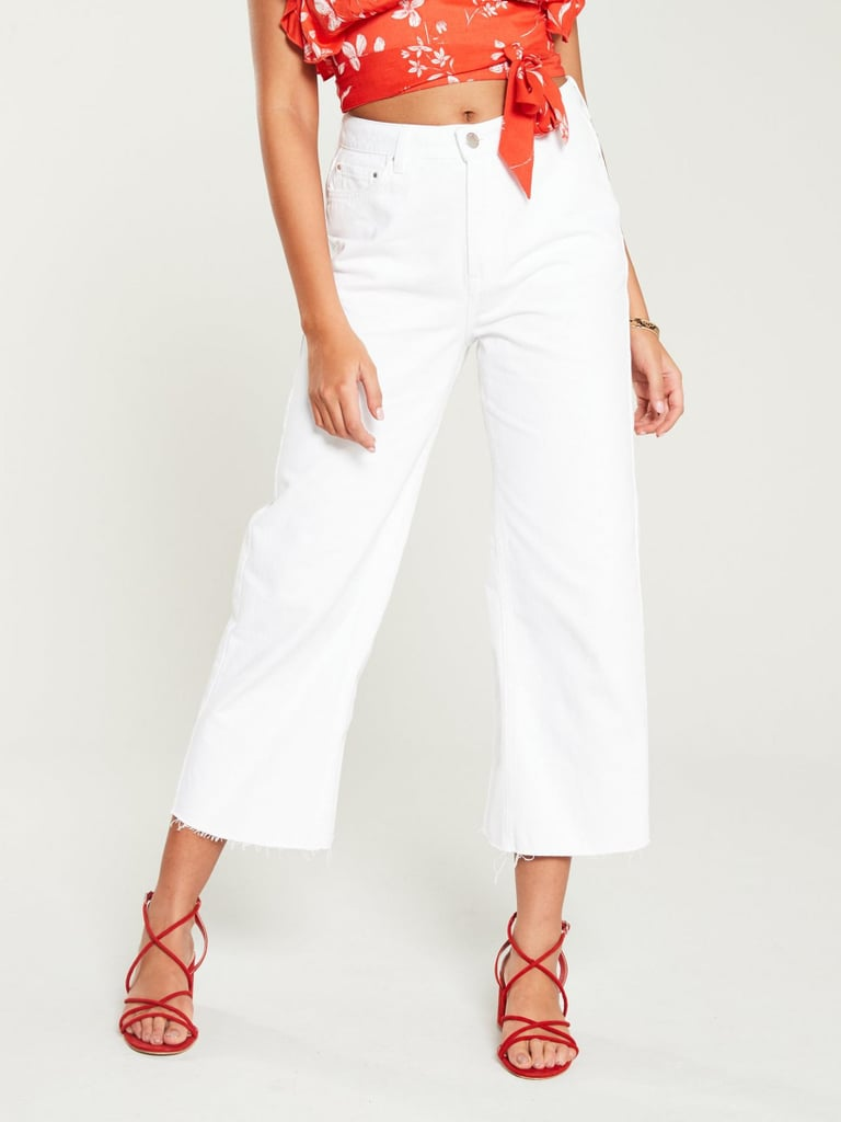 V by Very Crop Wide Leg Jeans