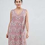 d8213da3d3a6 ... jacquard maxi dress · Lovedrobe Luxe Plus Lovedrobe Luxe Embellished V  Neck Shift Dress ...