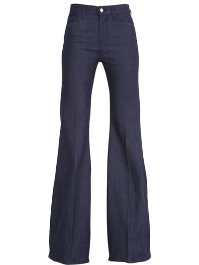 Giambattista Valli for 7 High Waisted Flared Cotton Denim Jeans ($350)