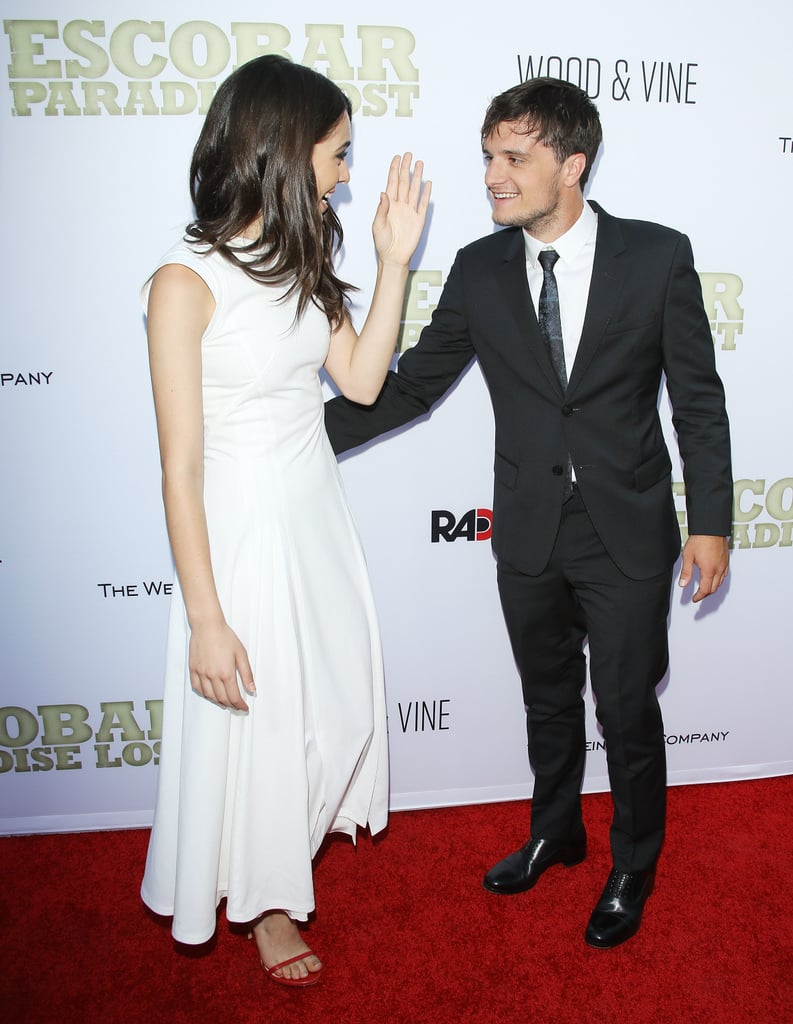 Josh Hutcherson Makes a Sweet Red Carpet Debut With His Girlfriend