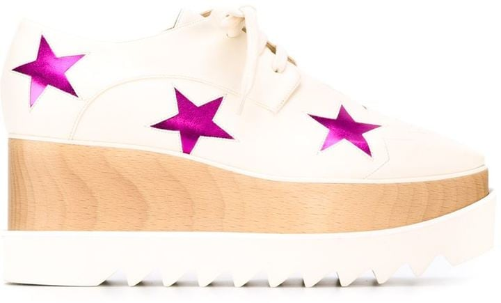 Stella McCartney 'Elyse Star' lace-up shoes ($1,100)