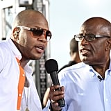 Flo Rida and Al Roker