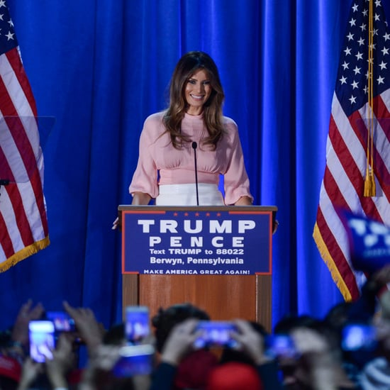 Melania Trump Says She'll Stop Cyberbullying as First Lady