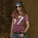 Go the athletic route with a true-to-form football jersey number tee. You can pair it with sleek white skinny jeans, a straw fedora hat, and sandals for a more punched-up ensemble. Ralph Lauren Denim & Supply Football Tee ($40)