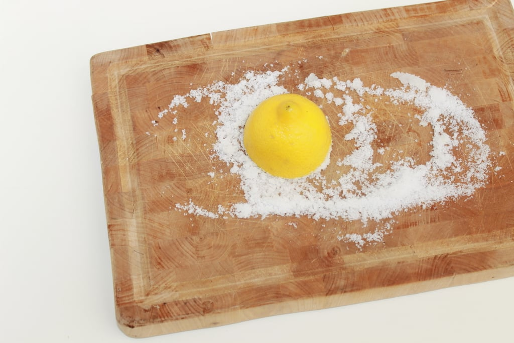 Disinfect Your Wooden Cutting Board